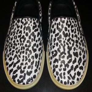 Saint Laurent Leather Slip-on sneakers